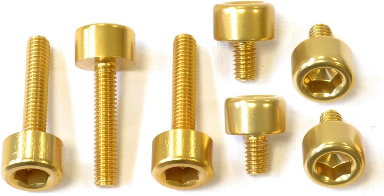 Kit Torniller/ía Tap/ón Dep/ósito Pro Bolt Aluminio TKA055