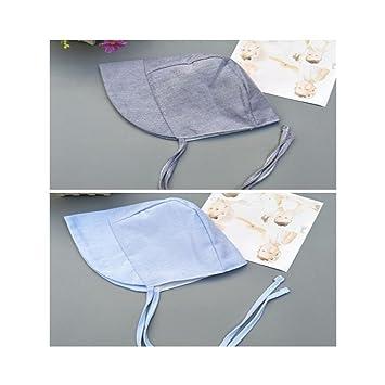 Sweetheart - 2 Sombreros de Tela Vaquera de algodón con Borde Ancho para bebés y niñas: Amazon.es: Hogar