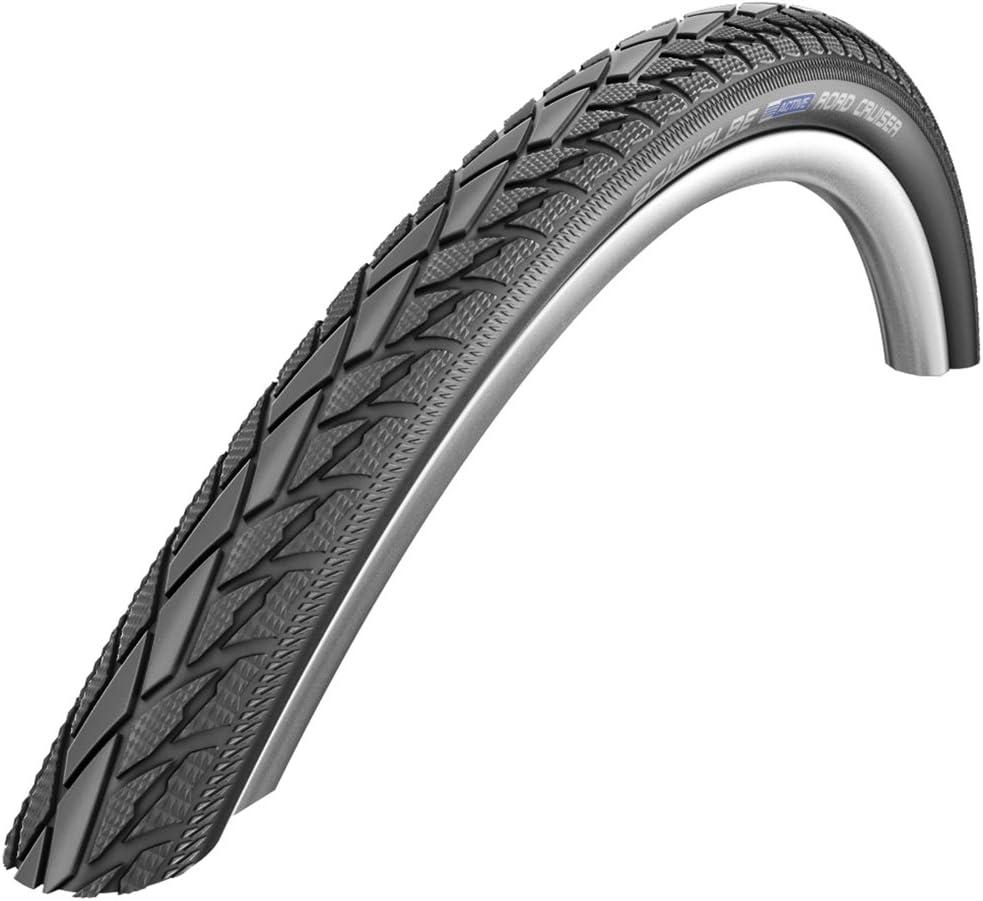 Schwalbe Whitewall Road Cruiser MTB Bike Tyres /& Tubes 26 x 1.75 Pair of