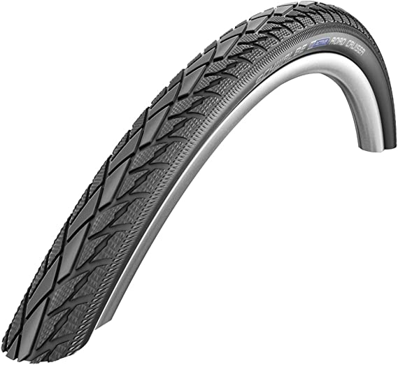 Schwalbe Road Cruiser 28 X 1.75 Wired Tyre with Puncture Protection 800g 47-622