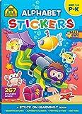 Books : Alphabet Stickers Workbook (Stuck on Learning)