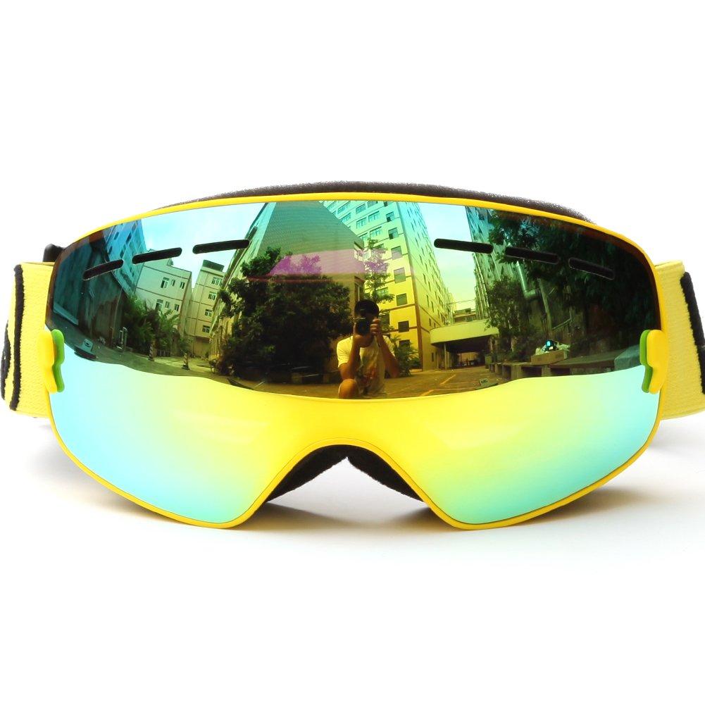 PhantomSky Création Supérieur UV400 Protection Anti-buée Cyclisme Ski Neige Lunettes de Sport #3 - Pro Design pour les activités de plein air ezzKGkPc
