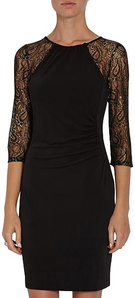Morgan 142-Roner.N - Vestido para mujer, Noir, 38