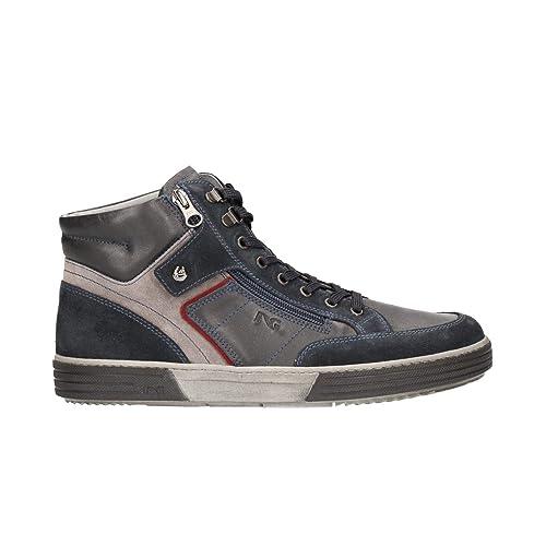 Nero Giardini Sneakers Scarpe Uomo Blu 0611 A800611U  Amazon.it  Scarpe e  borse 88e1ec2d20e