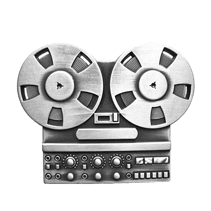 Urban Backwoods Cassette I Hebillas de cintur/ón Belt Buckle