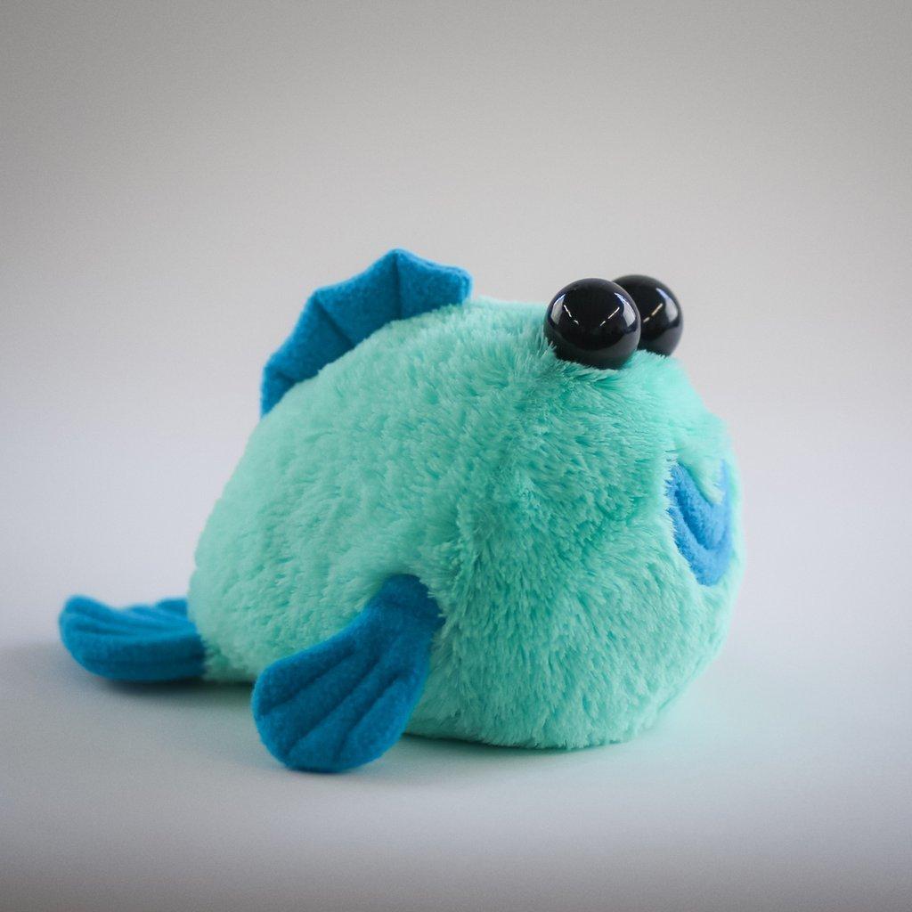 Mini Hashtag Collectibles Stuffed Mudskipper plushie
