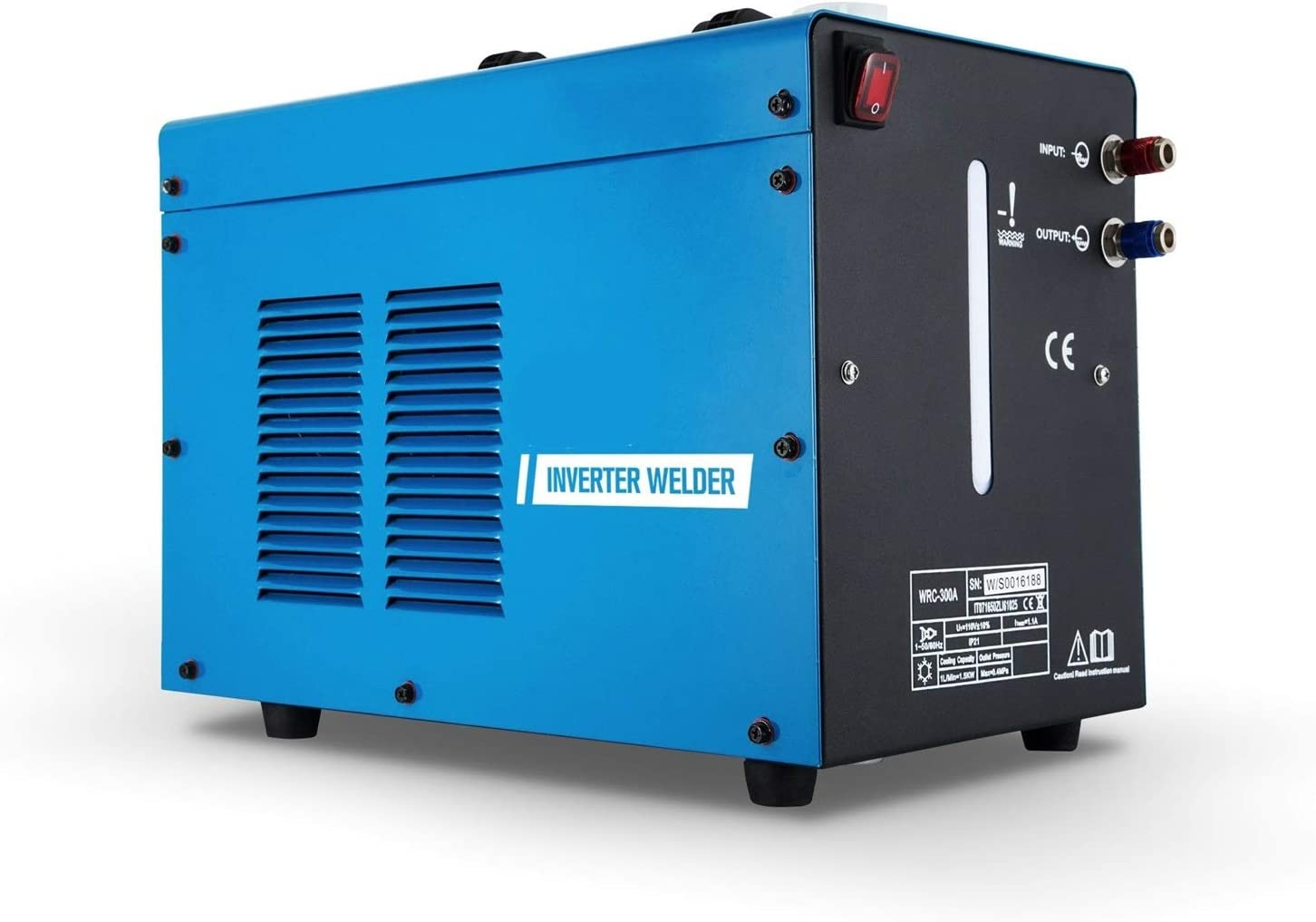 Máquina de soldadura micro TIG Inverter Welder 300AMP Water Welder Cooler TIG Welder Torch Professional Industrial Cooler Máquina de soldadura de 10 litros Pantalla digital