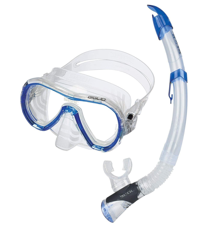 Seac Unisex Set Giglio Valve Schnorchelset mit Maske Maske Maske und Schnorchel mit Wasserausblasventil für Erwachsene B07LGT4DJ2 Schnorchel-Sets Sehr praktisch 81db68
