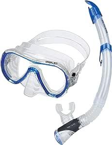 SEAC Giglio Valve Set de Snorkel con máscara subacuática y Tubo ...