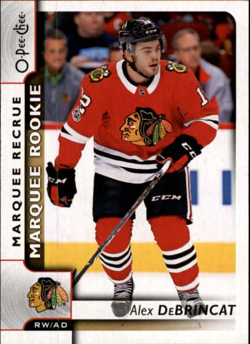 2018-19 OPC O-Pee-Chee Hockey #450 Alex DeBrincat Chicago Blackhawks Official 18//19 NHL Trading Card