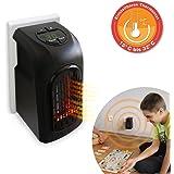 livington handy heater 370 watt effektive keramik mini heizung f r die steckdose das tv original. Black Bedroom Furniture Sets. Home Design Ideas
