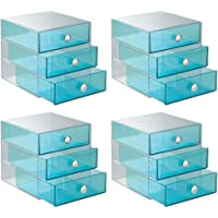 InterDesign Drawer Storage Organizer for Cosmetics, Makeup, Beauty Products and Office Supplies