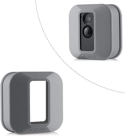 Blink Xt Skin Silikon Skin Für Blink Xt Outdoor Home Security Camera Uv Und Wasserbeständig Indoor Outdoor Blink Xt Protecting Case 1 Pack Grau Elektronik