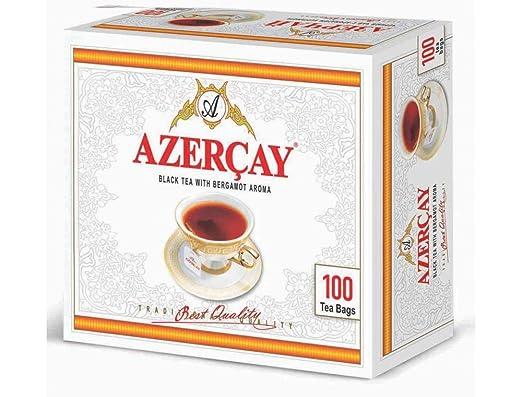 azercay té negro con bergamota aroma desechables bolsas de ...