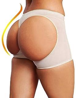 cdcd54edcf25 Amazon.com: Andux Land Seamless Padded Underwear for Women-Sexy SS ...