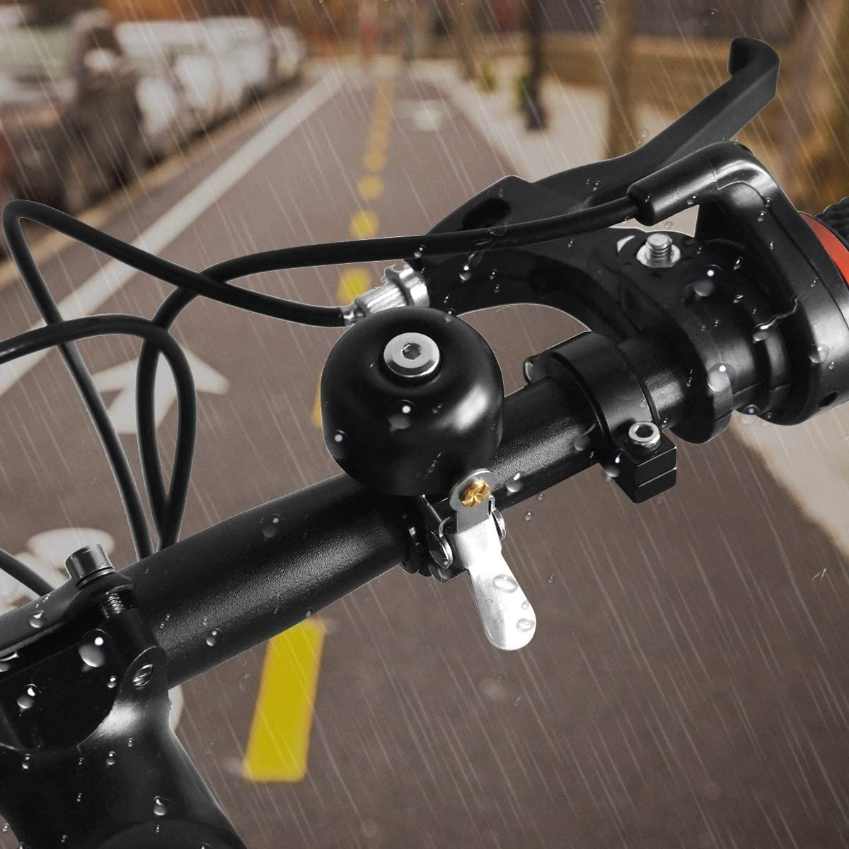 Details about  /Riding Bell Folding Bike Bicycle Retro Bell Mountain Bike Bell Handlebar Horn.