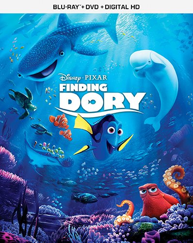 Finding Dory – BD Combo Pack (2BD + DVD + Digital HD) [Blu-ray]