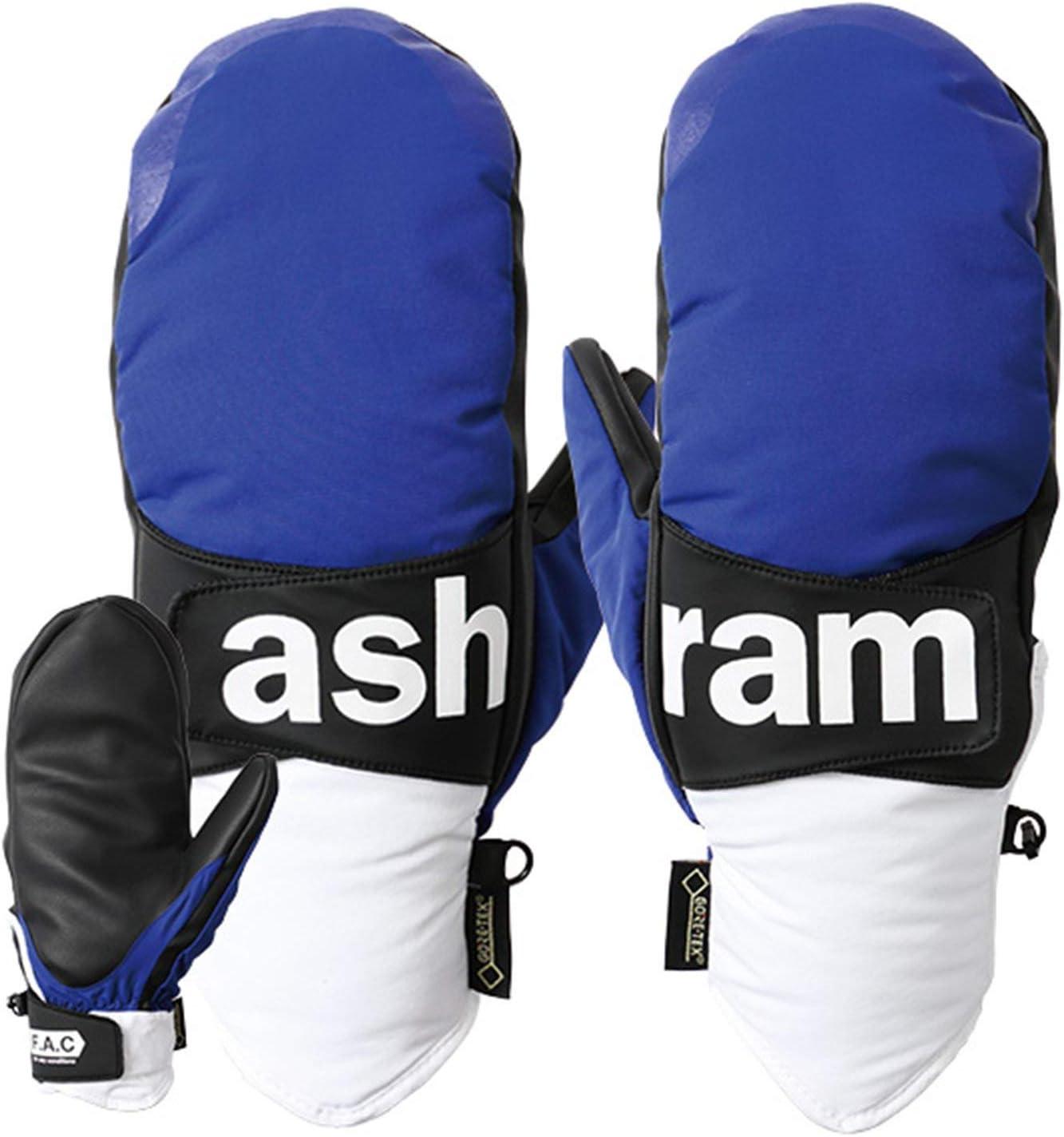 ASHRAM アシュラム スノーボード グローブ ASRM18W09 18-19モデル メンズ PHOEBE 青 Medium