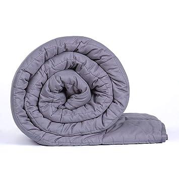 Amazon.com: Manta pesada de oveja para bebé, 100% algodón ...