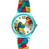 Teenie-Weenie Chic-Watches - Fleur - montres pour femmes et enfants avec bracelet en plastique - UC003