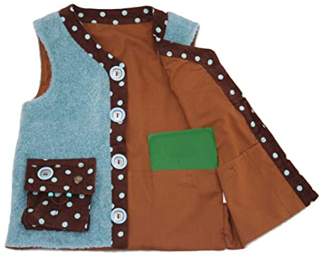 bd8c6bf14791 Amazon.com  Kozie Clothes Girls  Sensory Weighted Vest  Clothing