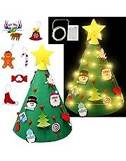 Gudotra Árbol de Navidad Árbol Navidad de DIY Árbol de Navidad Pequeño Colgante para Niños
