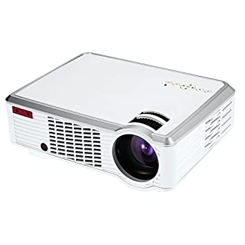 gblife 2600 lúmenes LED proyector - proyector LCD Reproductor ...