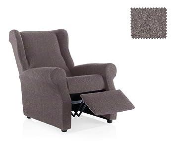 JM Textil Funda de sillón Relax elástica Haber Tamaño 1 Plaza (Estándar), Color 06