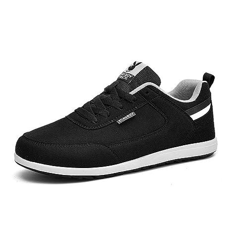 8aa800dc Gfphfm Zapatos Casuales de los Hombres, Academia de bajo-Top Zapatillas de  Running Primavera