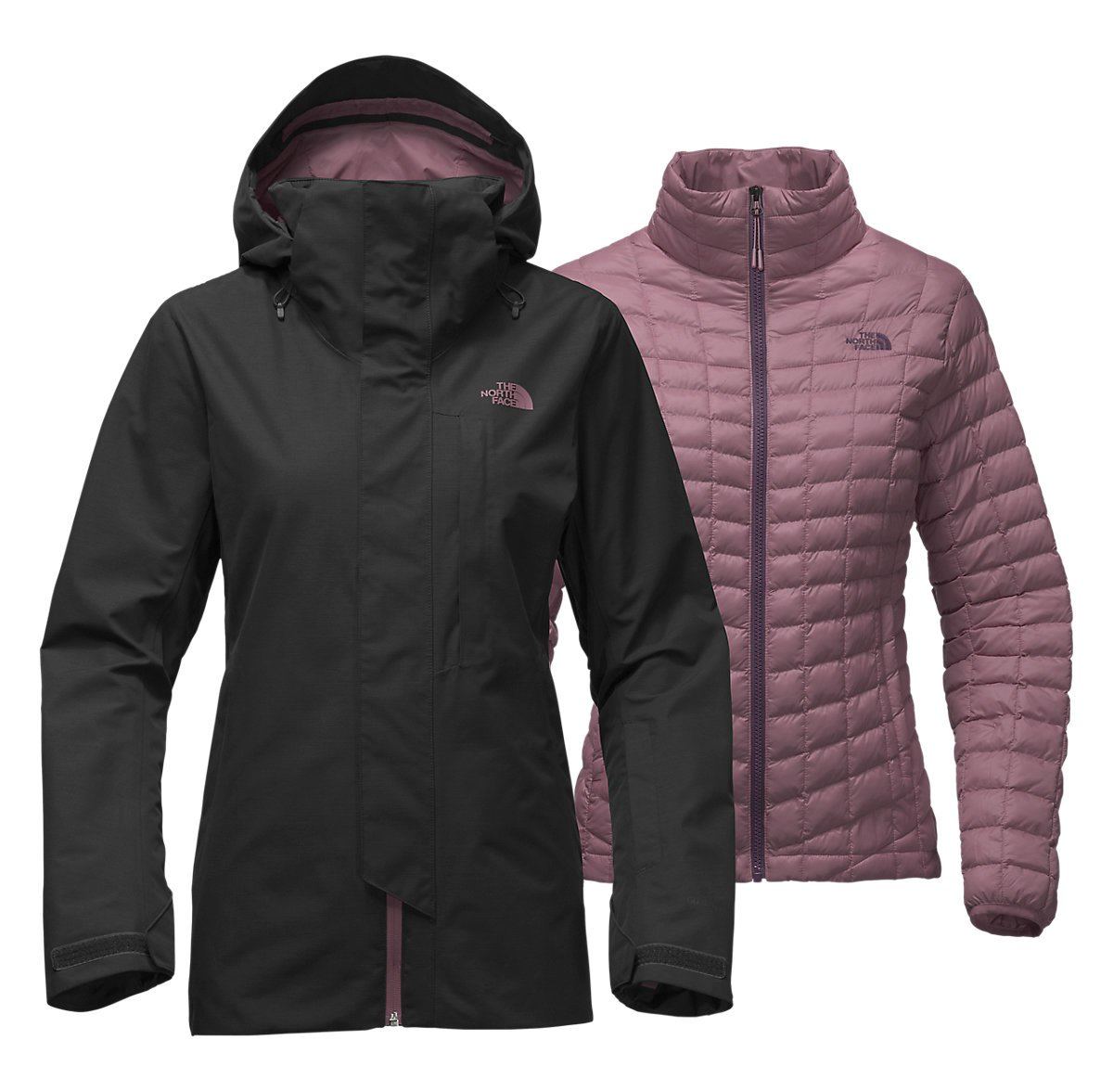 North Face Alligare Triclimate Hooded 3-in-1 Jacket Womens Style : A333I-JK3 Size : S