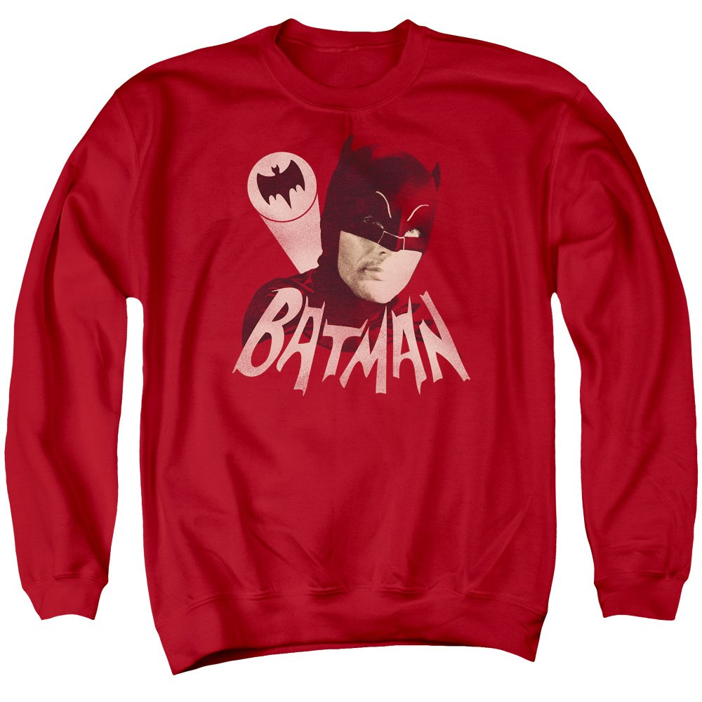Batman Classic Tv Mens Bat Signal Sweater