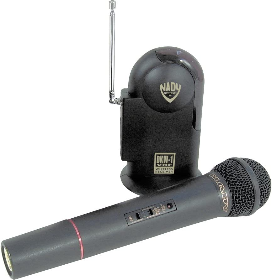 LOT OF 2 NEW NADY WHT-14 VHF HAND HELD MICROPHONES