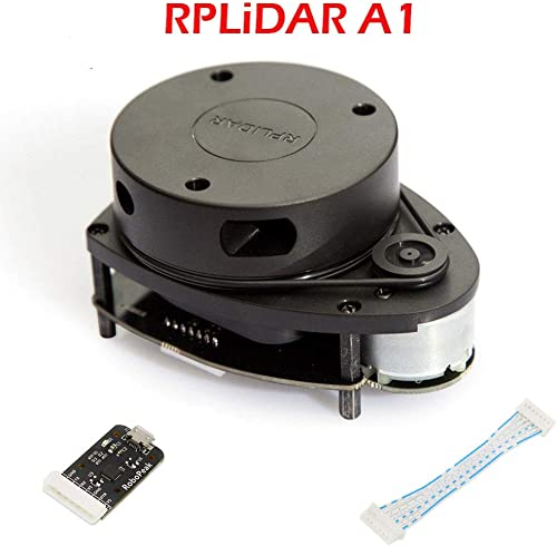 Slamtec RPLIDAR A1M8 2D 360 Degree 12 Meters Scanning Radius LIDAR Sensor Scanner for Obstacle Avoidance and Navigation of Robots