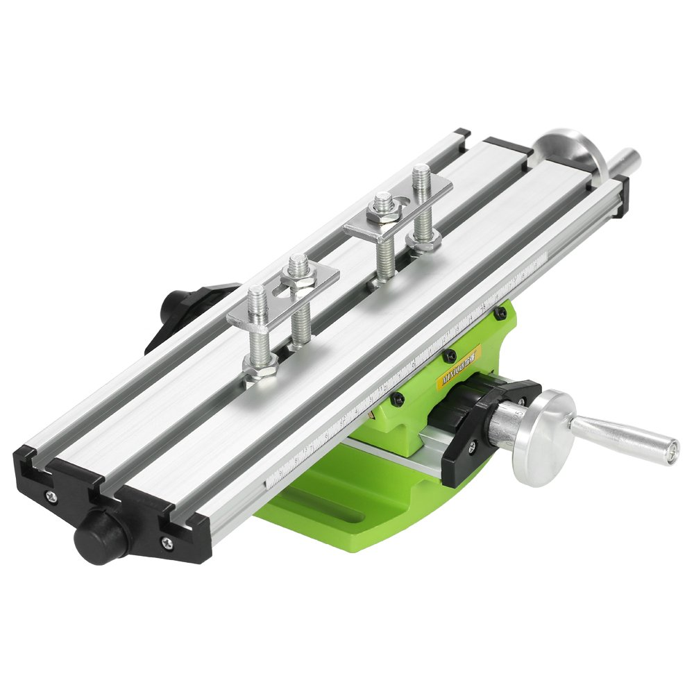 MultifunctionWorktable Milling Working Cross Table Milling Machine Compound Drilling Slide Table For Bench Drill Adjustment X-Y(6300 SIZE)