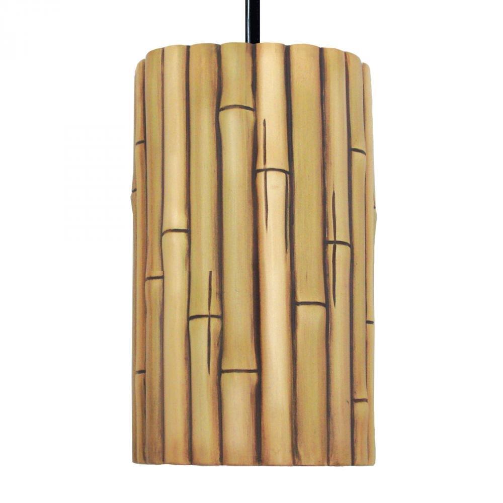 Nature Bamboo Ceramic Pendant