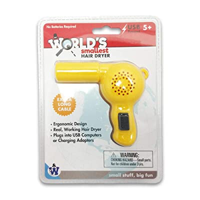Gadgets Westminster - World's Smallest Hair Dryer: Toys & Games