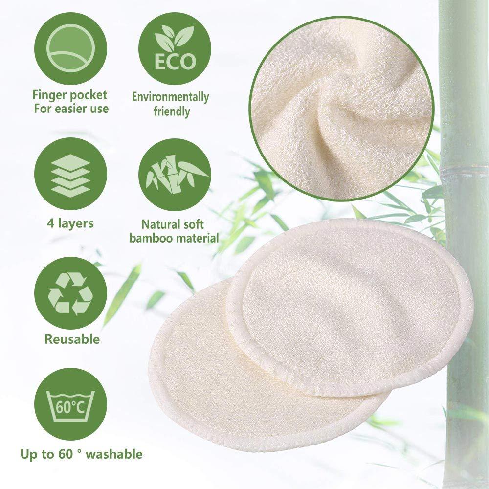 Amazon.com: 12 almohadillas de maquillaje reutilizables ...
