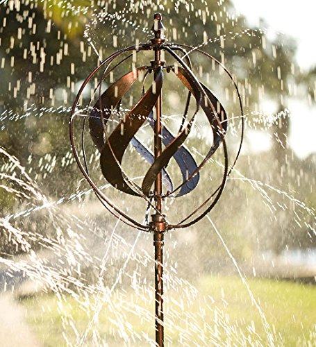 Review Outdoor Hydro-Ball Metal Garden