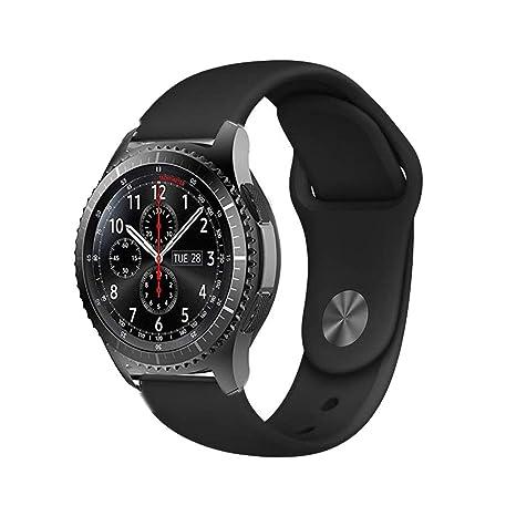 BarRan Ticwatch Pro Correa, 22MM Quick Release Edición Especial Deportes Recambio de Pulseras Ajustable Accesorios para Ticwatch Pro,Ticwatch 1