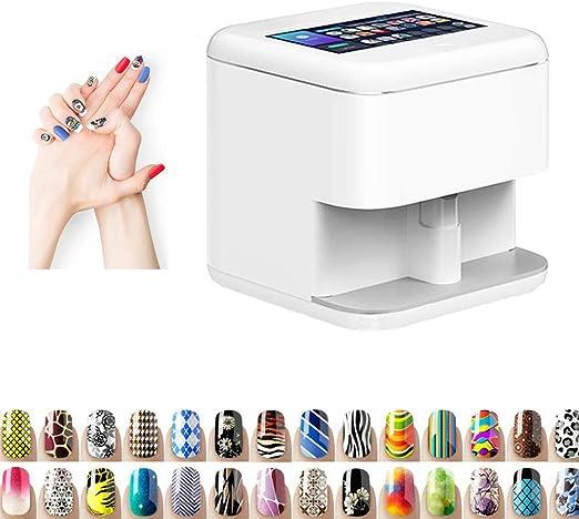 Oito Impresoras de uñas 3D Máquina Impresora máquina de Pintar Las ...