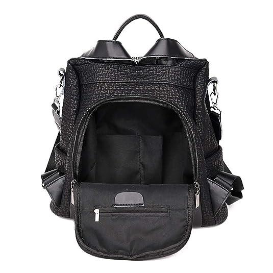 Bolsos Para mujer, RETUROM 2019 Anti-robo Mujer Mochila de mochila de Bolsa de mano Mochilas Casual Bolsa de viaje,Negro (32 * 16 * 33, Negro): Amazon.es: ...