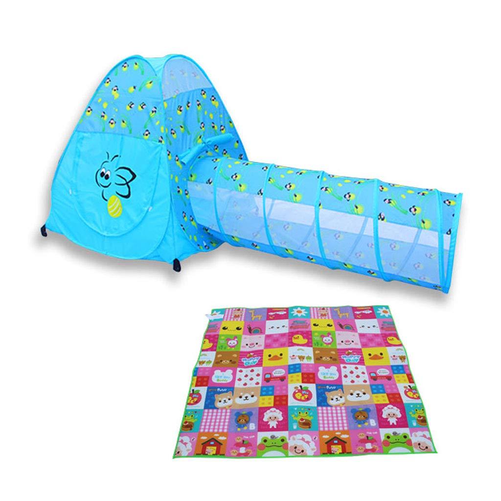 お買い得モデル ベビーサークル マット/パッド 青 - 幼児の子供のための屋内/屋外プレイテント :、ピンク ベビーサークル/ブルーのキッズボールピットベビーサークルボールテントプール (色 : 青) 青 B07MDFS482, MANYOJAPAN:1b74593d --- a0267596.xsph.ru