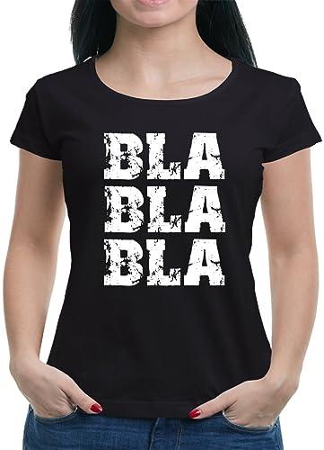 TLM Bla Bla Bla maglietta da donna
