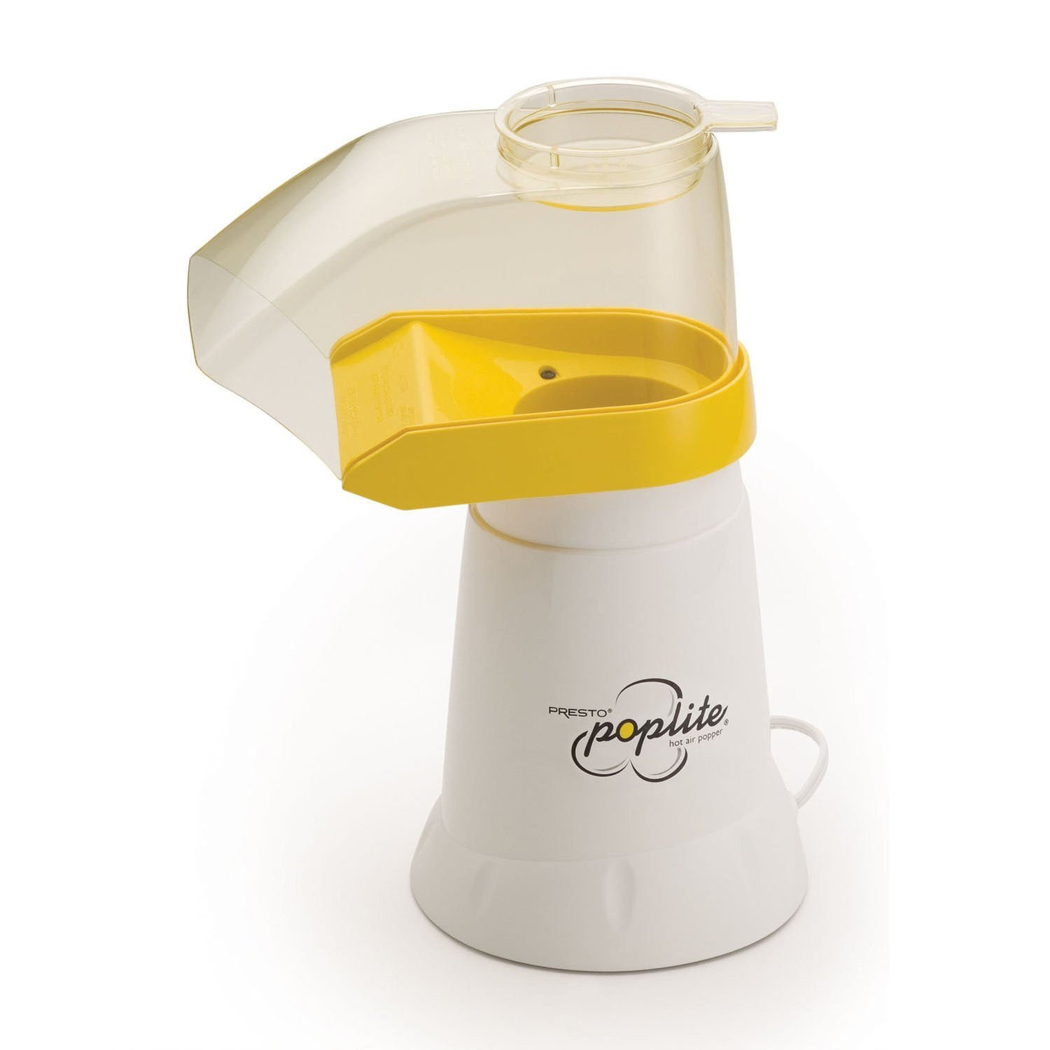 Presto 04820 PopLite Hot Air Corn Popper Makes up to 18 cups in less than 2-1 2-minutes