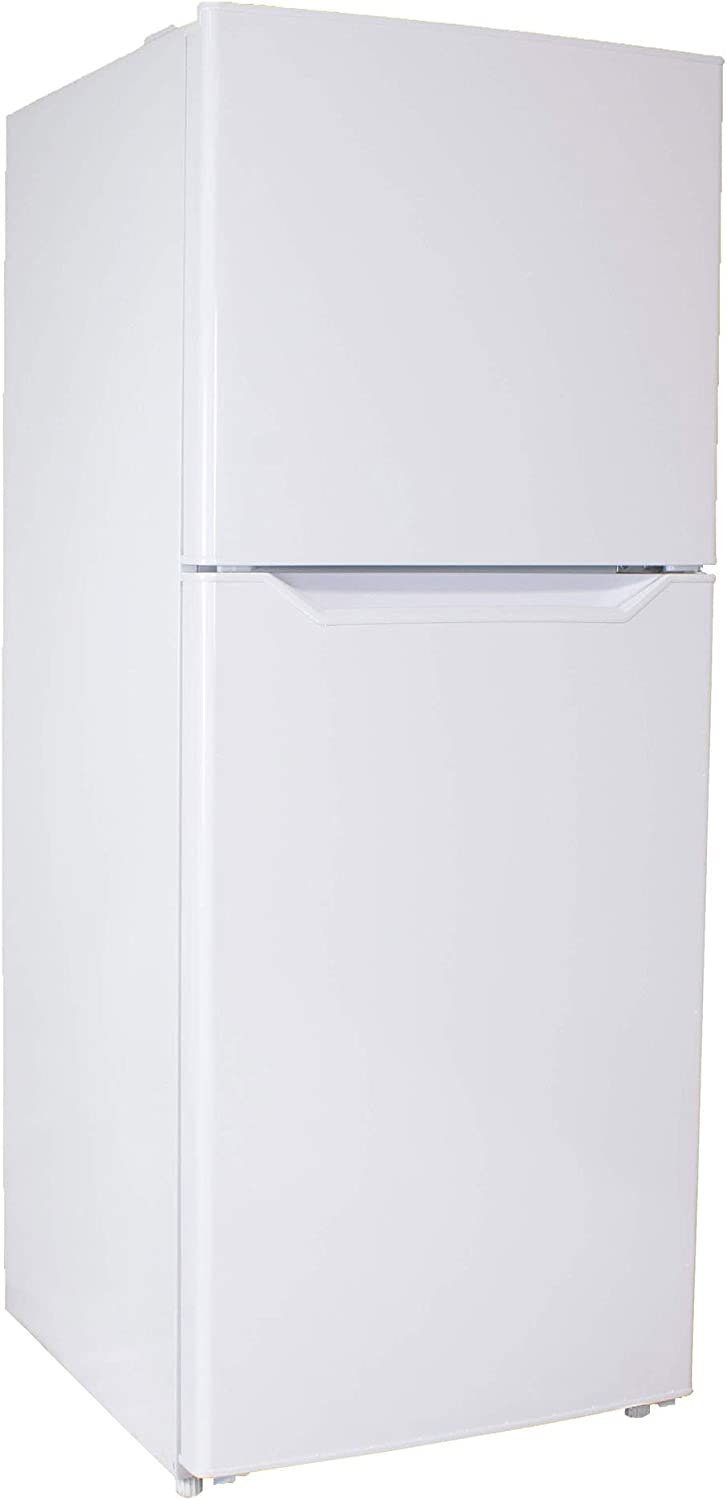Danby DFF101B1WDB Large Capacity 10.1 Cubic Foot Ultimate Maintenance Free Apartment Size Refrigerator, White