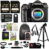 Pentax K-1 DSLR Camera (Body Only) Ultimate Holiday Bundle