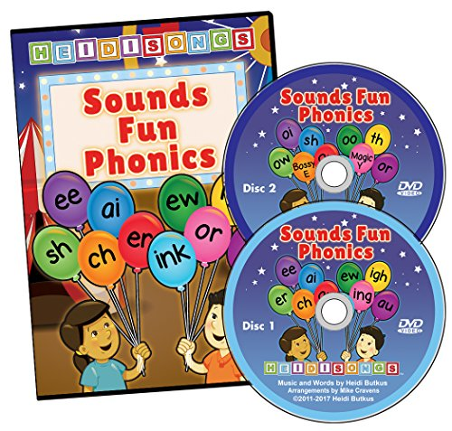 (Sounds Fun Phonics Animated DVD)