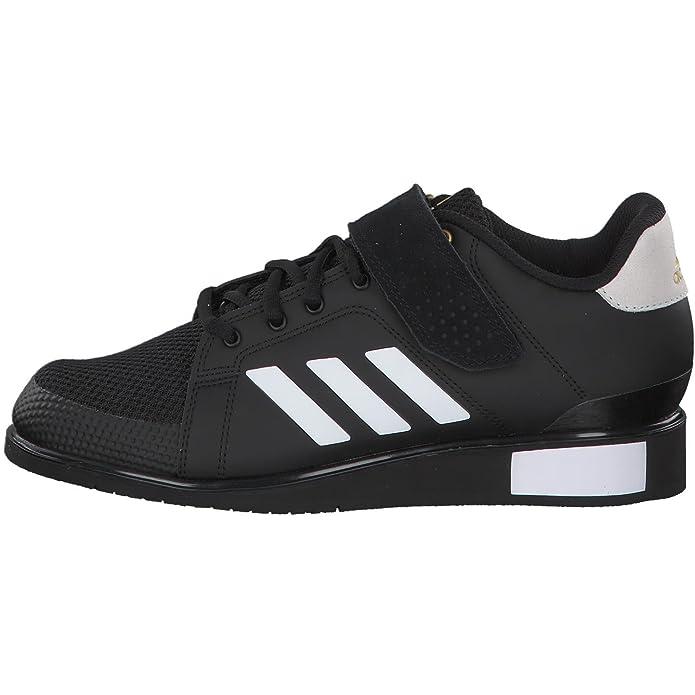 adidas Power Perfect III, Chaussures de Fitness Homme, Noir (Cblack/Ftwwht/Mag Old), 48 EU