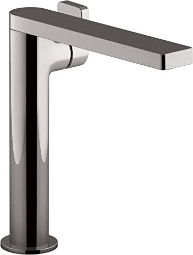 Kohler K-73168-4-TT 73168-4-TT Composed Tall Single Bathroom Sink Faucet with Lever Handle, Titanium