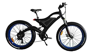 BAFANG Motor Fat Tire Electric Mountain Bike Review